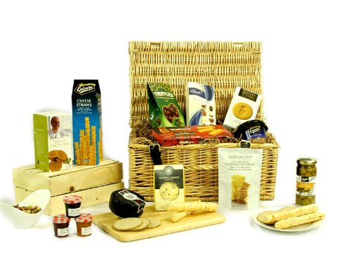Premium Stilton Cheese Gourmet Gift Hamper