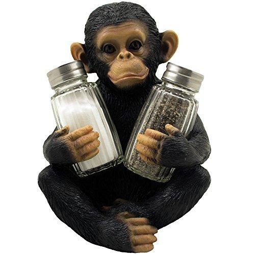 Monkey Salt and Pepper Shaker Holder