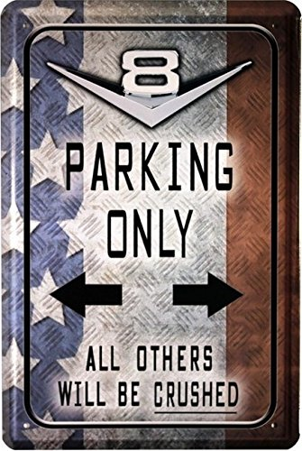 blechschild-v8-parking-only-20-x-30-cm-reklame-retro-blech-1289