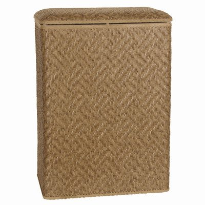 Lamont Home Apollo Snag Proof Wicker Large Family Size Laundry Hamper, Natural front-917014