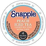 Snapple Peach Iced Tea, Keurig K-Cups, 72 Count