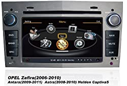 See susay Opel 2006 2007 2008 2009 2010 Zafira, 2009 2010 2011 Antara, 2008 2009 2010 Astra,Holden Captiva5 Car DVD Player With GPS Navigation(free Map)Audio Video Stereo System with Bluetooth , USB/SD, AUX Input, Radio(AM/FM), TV, Plug & Play Installation Details