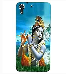 ColourCraft Lord Krishna Design Back Case Cover for HTC DESIRE 626