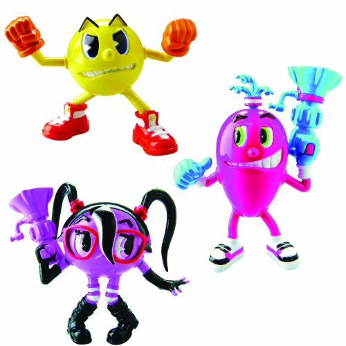 pacman-ghostly-figures-pacman-3-cylindria-and-spiral-pack-of-3