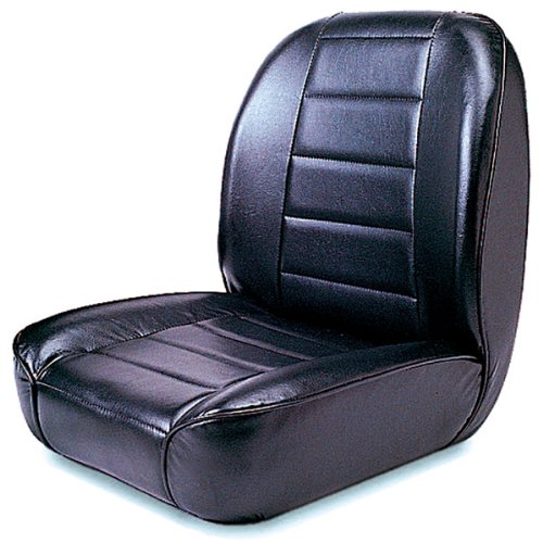 Rugged Ridge 13400.01 Standard Black Low Back Front Seat front-434629