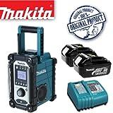 MAKITA BMR102 Jobsite Radio Plus BL1830 18.0V 3.0Ah Lithium-ion Battery Plus DC18RA 14.4-18V Lithium-ion Battery Charger 240V