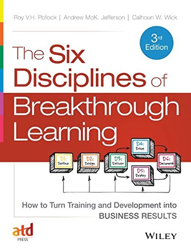 The Six Disciplines of Breakthrough Learning: How to Turn Training and Development into Business Results (Learning Breakthrough Program compare prices)