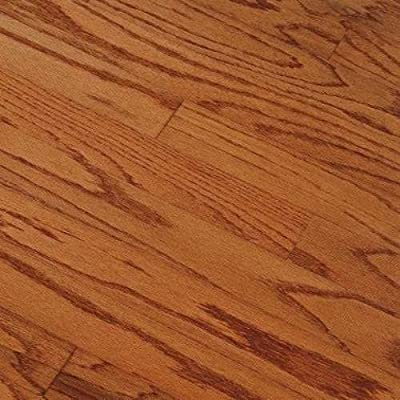 "Springdale Plank 3"" Engineered Red Oak Flooring in Gunstock"