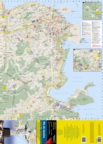 **Rio de Janeiro (National Geographic Destination City Map)