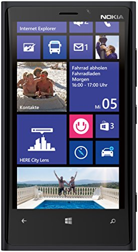 Nokia Lumia 920 32GB Unlocked 4G LTE Windows Smartphone w/ PureView Technology 8MP Camera - Black
