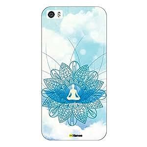 Customizable Hamee Original Designer Cover Thin Fit Plastic Hard Back Case for Apple iPhone 7 (Meditation)
