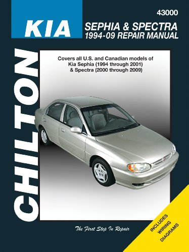 chilton-repair-manual-kia-sephia-spectra-1994-09