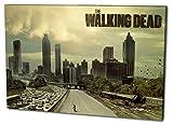 The Walking Dead Format: 80x60 Leinwandbild, TOP-Qualität!...