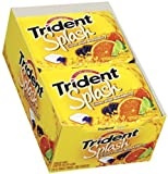 Trident Splash Citrus Blackberry, 10-Count Package +Free Shipping World Wide