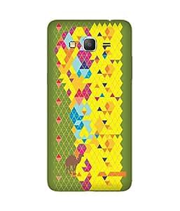 Stripes And Elephant Print-75 Samsung Galaxy Grand Prime Case