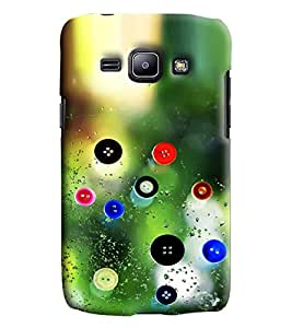 Blue Throat Buttons Printed Designer Back Cover/Case For Samsung Galaxy J1