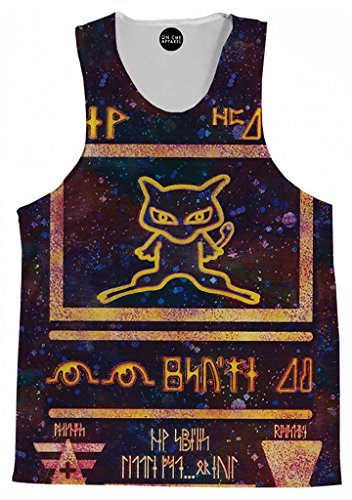 On Cue Apparel Ancient Mew Tank Top – Premium All Over Print Tanks – Large