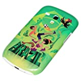 DeinPhone AR-230192 Protective Hard-Shell Case for Samsung Galaxy S3 mini - Brazil World Cup Samba Design