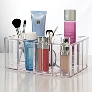 US Acrylic® Vanity Organizer - 5 compartments