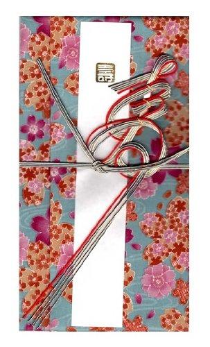 ハンカチで出来た御祝儀袋「心込袋」 桜 ターコ F-312