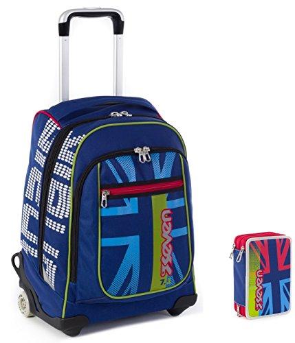 Wheeled Bag With Shoulder Straps 33
