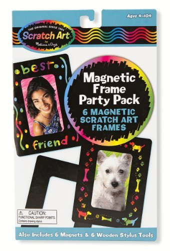 Magnetic Frames: Scratch Art Party Pack - 1