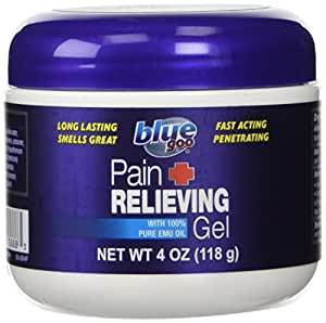 Blue Goo Pain Relief Gel, 4 Ounce