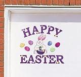 Happy Easter Bunny Garage Door Magnet Set