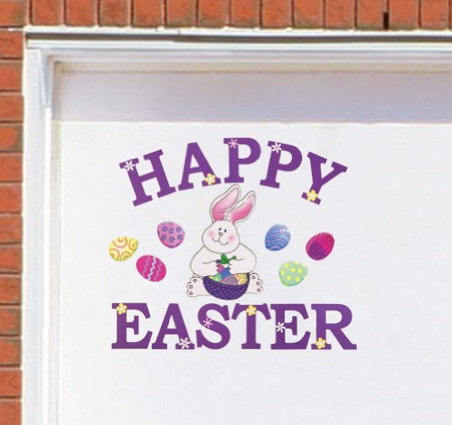 Images for Happy Easter Bunny Garage Door Magnet Set By Collections Etc
