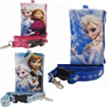 3 Disney Frozen Lanyards with Coin Purse