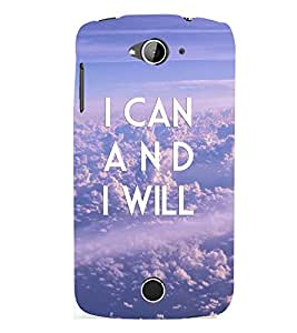 D KAUR Life Quote Back Case Cover for Acer Liquid Z530