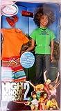Barbie - Disney - High School Musical 2 - verano - CHAD - aprox. 28cm afro-americana moda muñeca - con traje extra