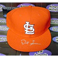 David Freese autographed Cap (St. Louis Cardinals) MLB HOLOGRAM hat - Autographed MLB...