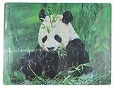 25 Piezas Juguete Madera Educativo Rompecabezas Puzzle Animales Panda para Niños y Bebés