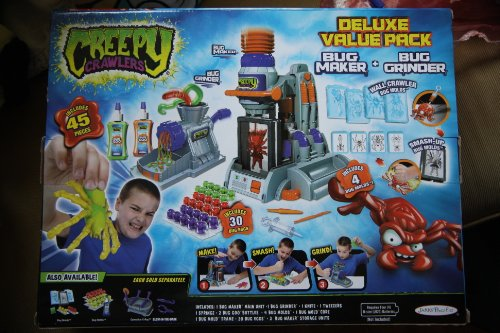 Halloween Creepy Crawlers Deluxe Value Pack with Bug Maker and Bonus Bug Grinder