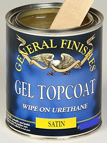 Gf Gel Topcoat Satin- Gallon (Gel Stain Top Coat compare prices)