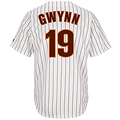 Tony Gwynn San Diego Padres Pinstripe Cool Base Cooperstown Jersey