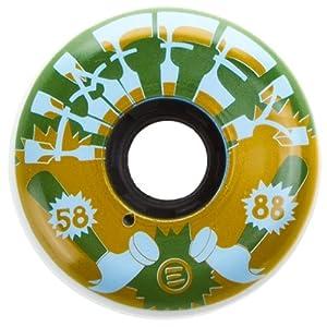 Eulogy Chris Haffey Vintage Pro Aggressive Skate Wheel (Set of 4) by Eulogy