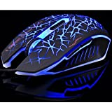 Xinhua Game Mouse, 6 Programmable Buttons, Up To 2400 DPI,Dazzle Light Game Mouse