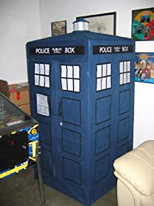 Doctor Who TARDIS Zipper Wardrobe Closet (stands 6 feet)