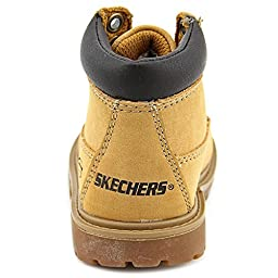 Skechers Infant/Toddler Boys\' Mecca Bunkhouse,Natural,US 6 M