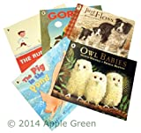 Martin Waddell Children Picture Book Collection: 5 books Owl Babies / The Pig In the Pond / Just Like Floss / Gorilla / The Runaway Dinner