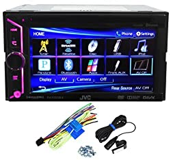See JVC KW-V20BT 2 Din Bluetooth Car DVD Receiver 6.1
