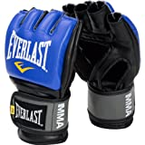 Everlast Pro Style MMA Grappling Gloves, Large/Xtra Large, (Blue)
