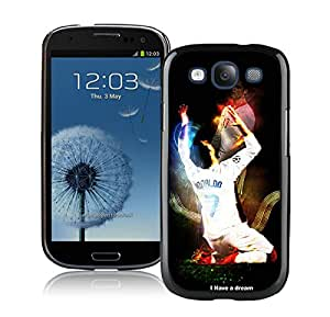 With Cristiano Ronaldo Real Madrid 01 Black: Cell Phones & Accessories