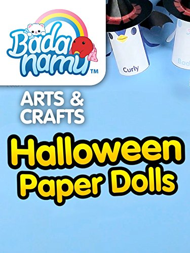 Badanamu Arts & Crafts EP7: Halloween Paper Dolls