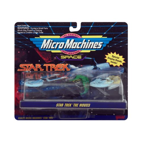 Micro Machines Star Trek the Movies (Collection 2)