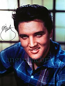 Amazon.com : Elvis Presley Sexy Photo Autograph Reprint