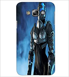 PrintDhaba Warrior D-2320 Back Case Cover for SAMSUNG GALAXY A7 (Multi-Coloured)