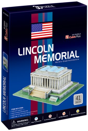 CubicFun C104H Lincoln Memorial Puzzle